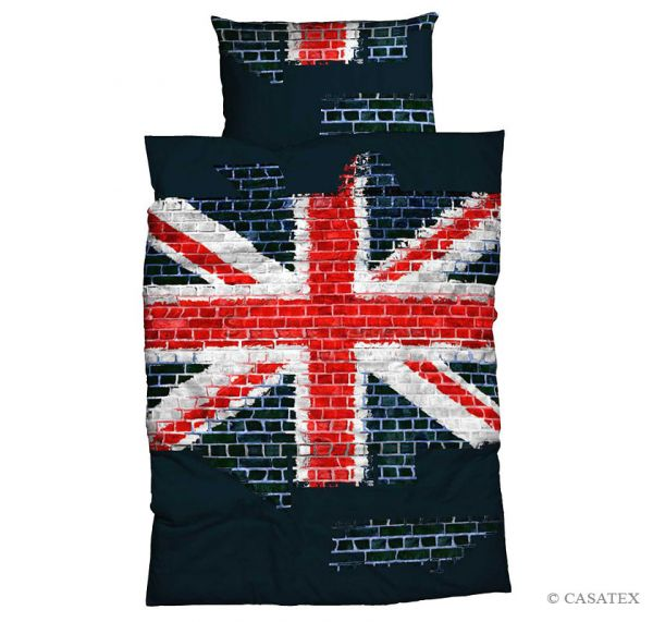 Casatex Renforcé Bettwäsche Union Jack