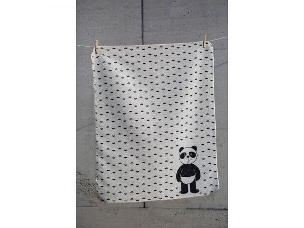 Babydecke Juwel Pandabär 6899
