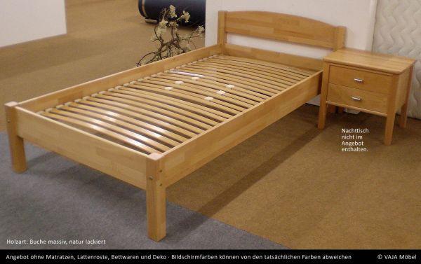 Vaja Buche Massivholz Einzelbett Otto Betten Prinz Gmbh