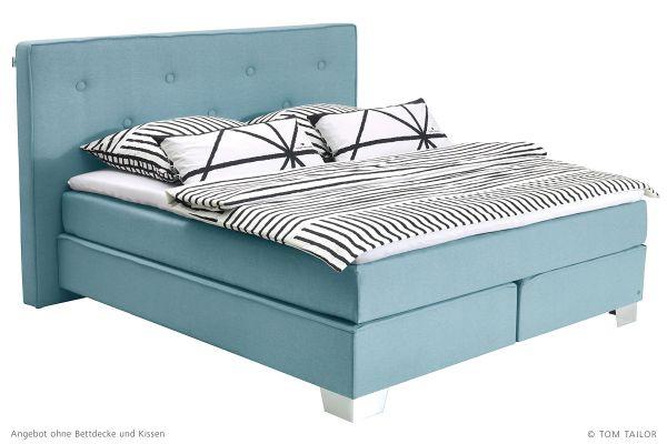 100% original Shop für echte attraktive Designs Tom Tailor Boxspringbett Soft Box XL mit Topper