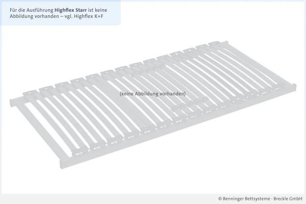 Benninger Bettsysteme Bettrahmen Highflex NV