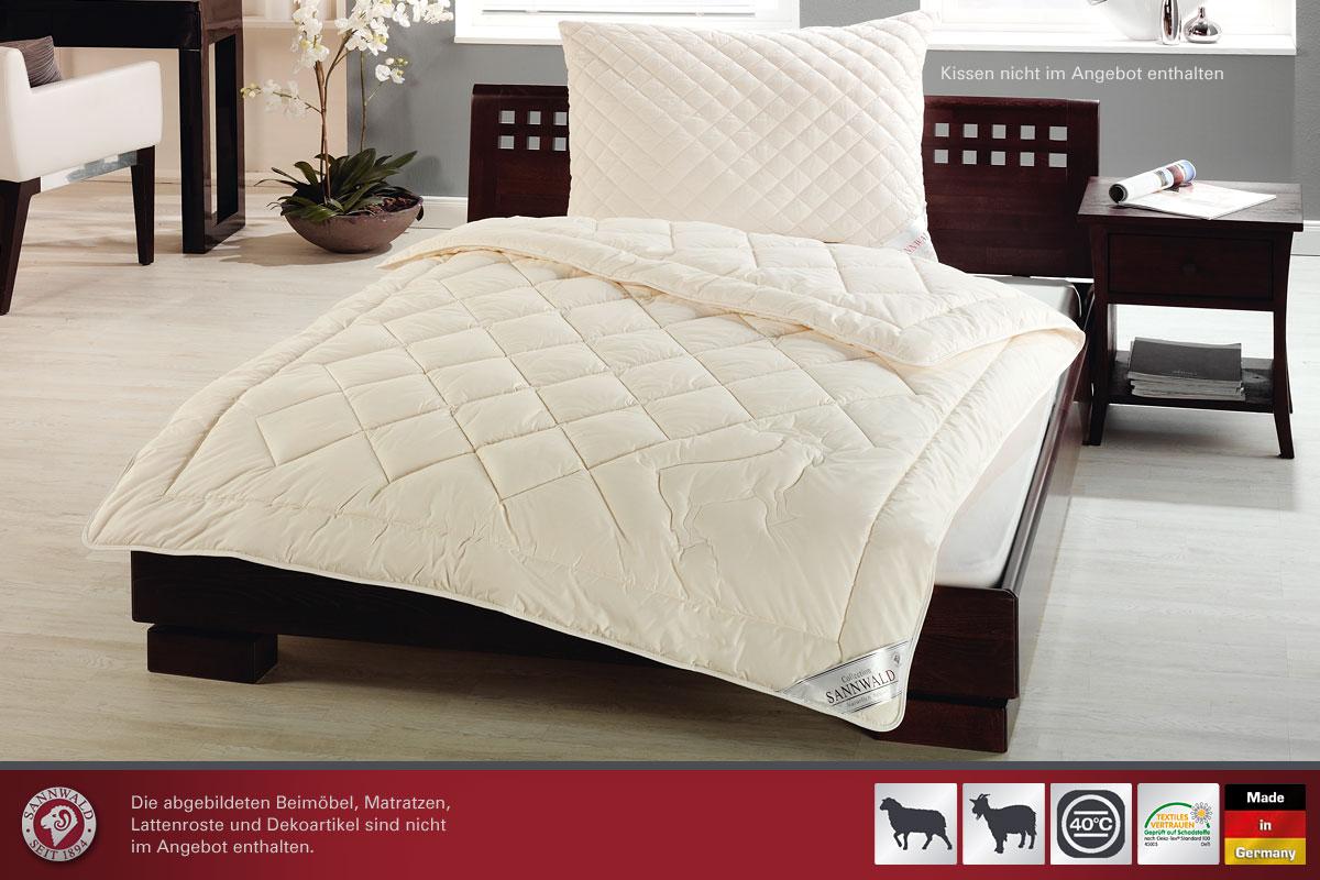 sannwald kaschmir duo steppbett betten prinz gmbh. Black Bedroom Furniture Sets. Home Design Ideas