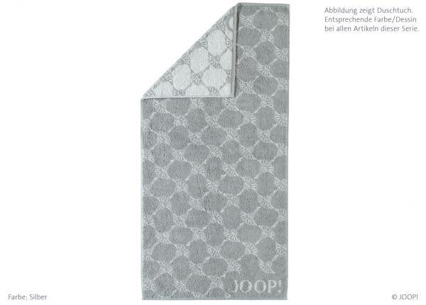 JOOP! Waschhandschuh Black & White Cornflower 1611