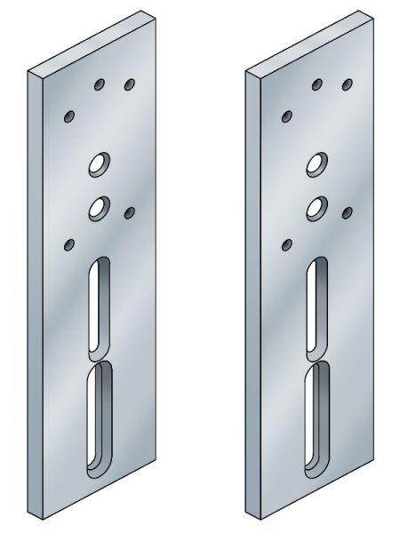 Modular Höhenverstellplatte für Kopfteil Savona