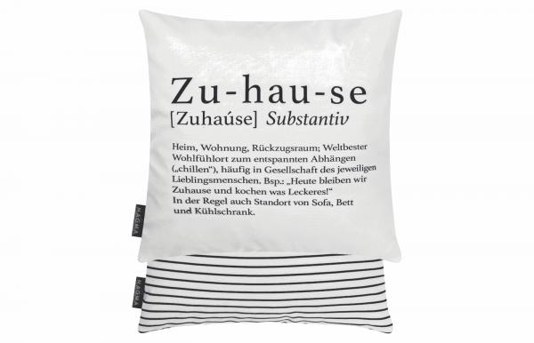 """Kissen """"Zuhause"""""""