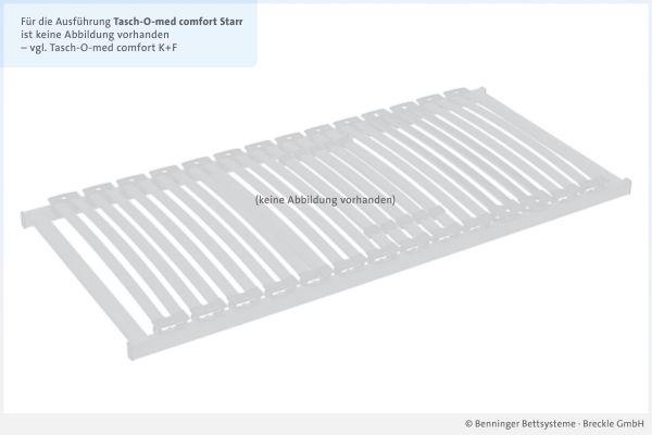 Benninger Bettsysteme Bettrahmen Buche-Vollholzrahmen Tasch-O-med comfort NV