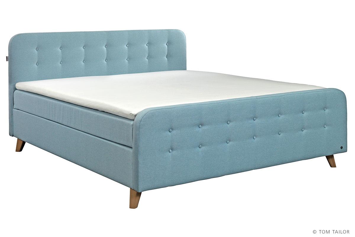 tom tailor boxspringbett nordic box mit viscoschaum topper. Black Bedroom Furniture Sets. Home Design Ideas