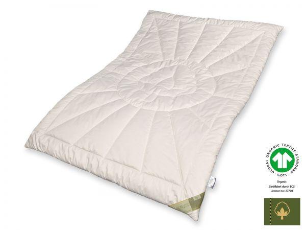 Bio-Cotton GOTS organic Duo-Warm-Steppbett