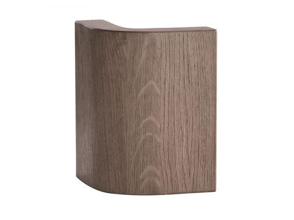 """Oak-Stone grey Beschlagspaket """"Round"""", 4er Set"""