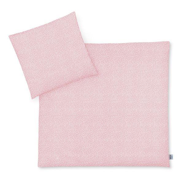 Zöllner Jersey Kinderbettwäsche Tiny Squares Blush