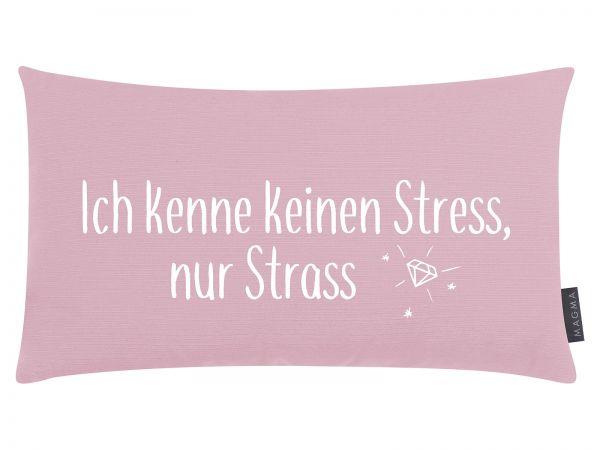 """Kissen """"Ich kenne keinen Stress"""""""