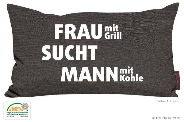 MAGMA-Spruechekissen-Frau-mit-Grill-sucht