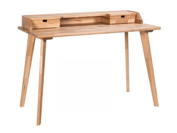 Moderno Schreibtisch Aska, Kenbuche natur, geölt