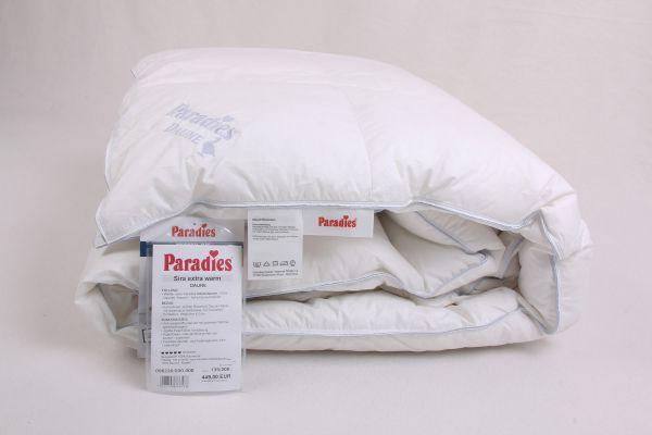 Paradies® Sira Daunenbett extra warm 135x200 cm